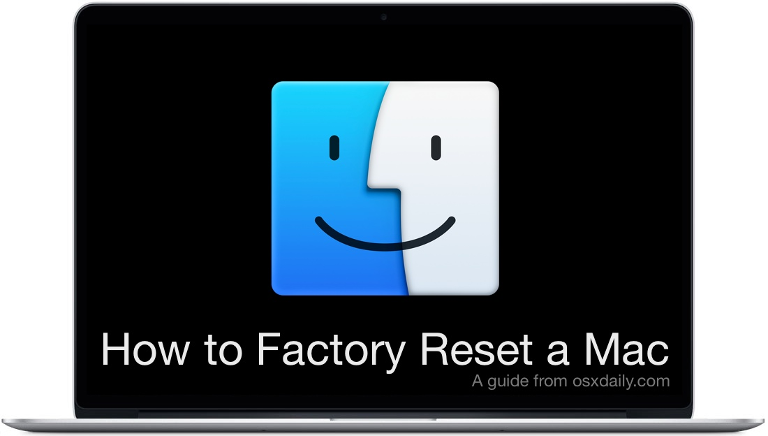 How to Factory Reset Mac to Original Settings
