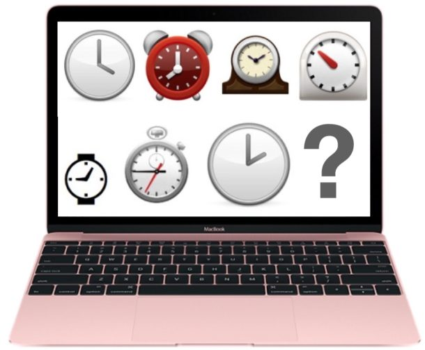 Fix a Mac showing the wrong time