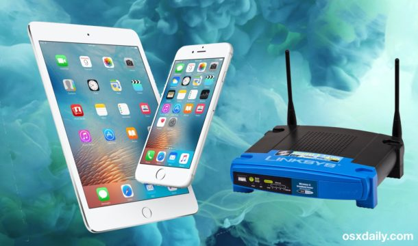 Get Router IP Address in iOS from iPhone and iPad