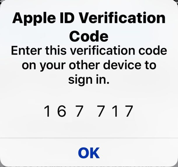 Two factor Auth ID code