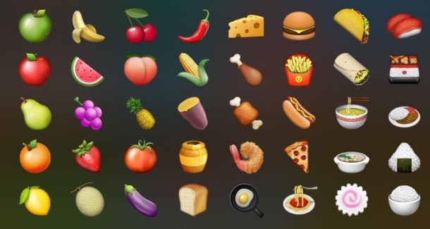 Search Spotlight with Emoji for Restaurants and other stuff