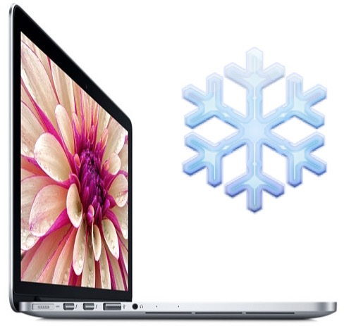 Freezing MacBook Pro