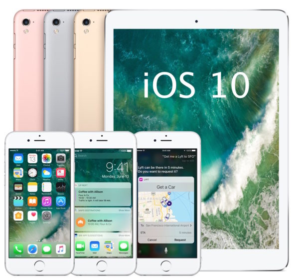iOS 10 compatible device list