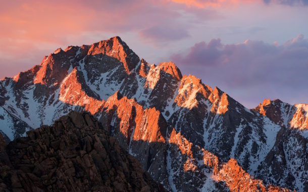 MacOS Sierra default wallpaper 1