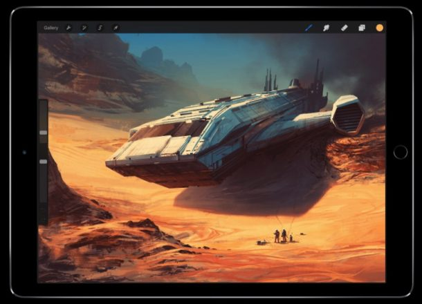 Procreate for iPad and iPhone is amazing painting app