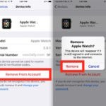 Remove device from Apple ID and iCloud list