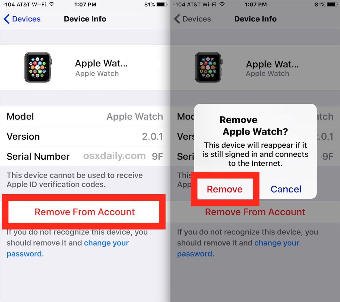 how to delete icloud account from iphone how to remove a device from an icloud account via ios 9859