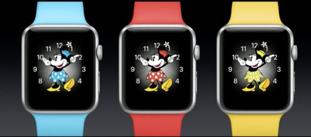 watchOS 3 with Minnie Mouse