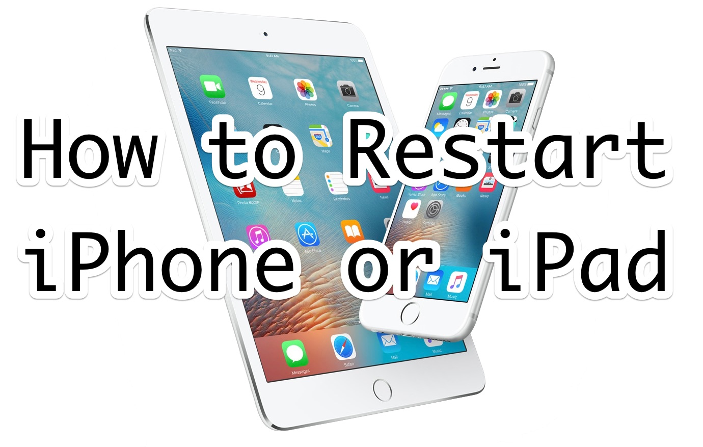 How to Restart iPhone or iPad