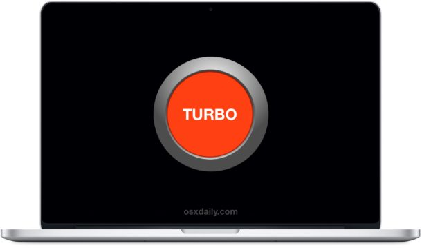 Turbo Boost on MacBook