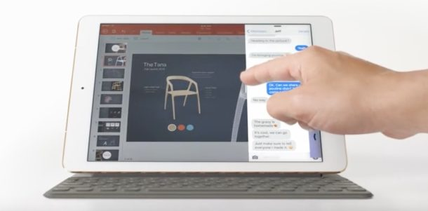 Apple iPad Surface commercial