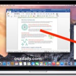 Save or Convert Word DOC to PDF on Mac