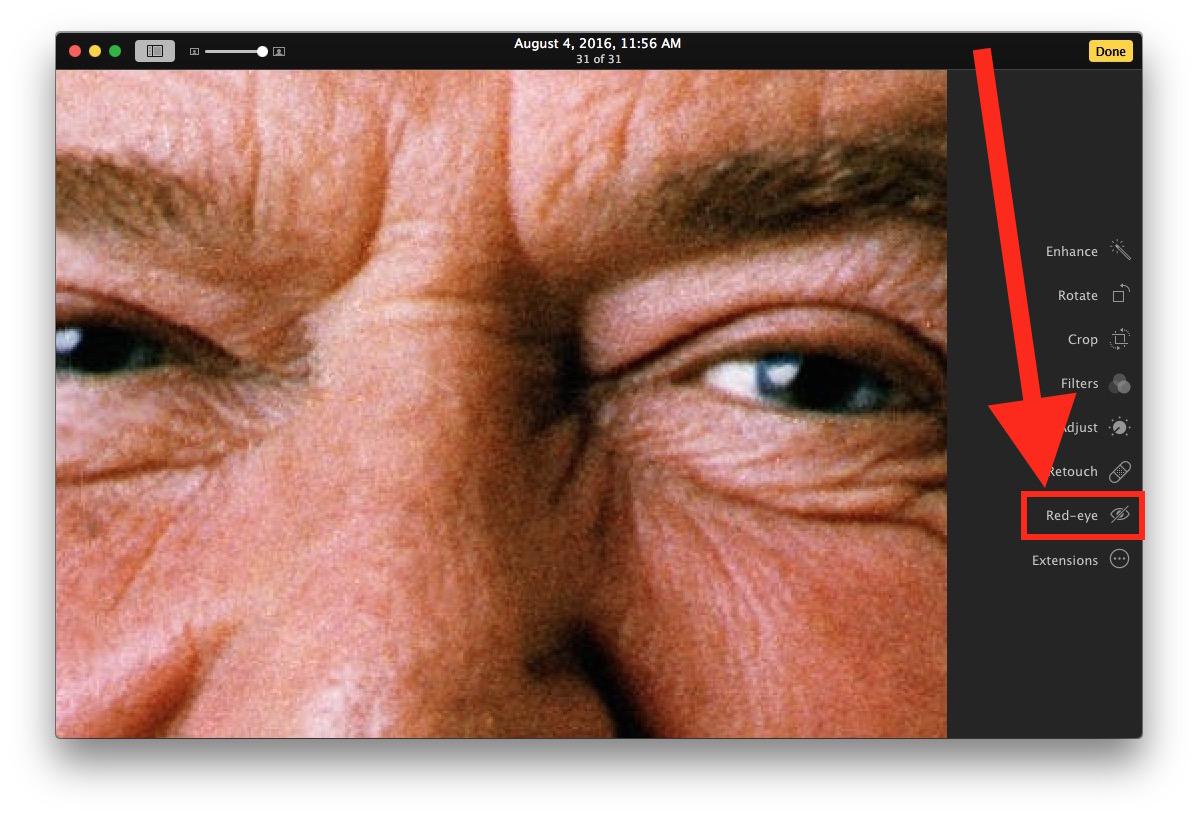 red-eye-tool-mac-photos
