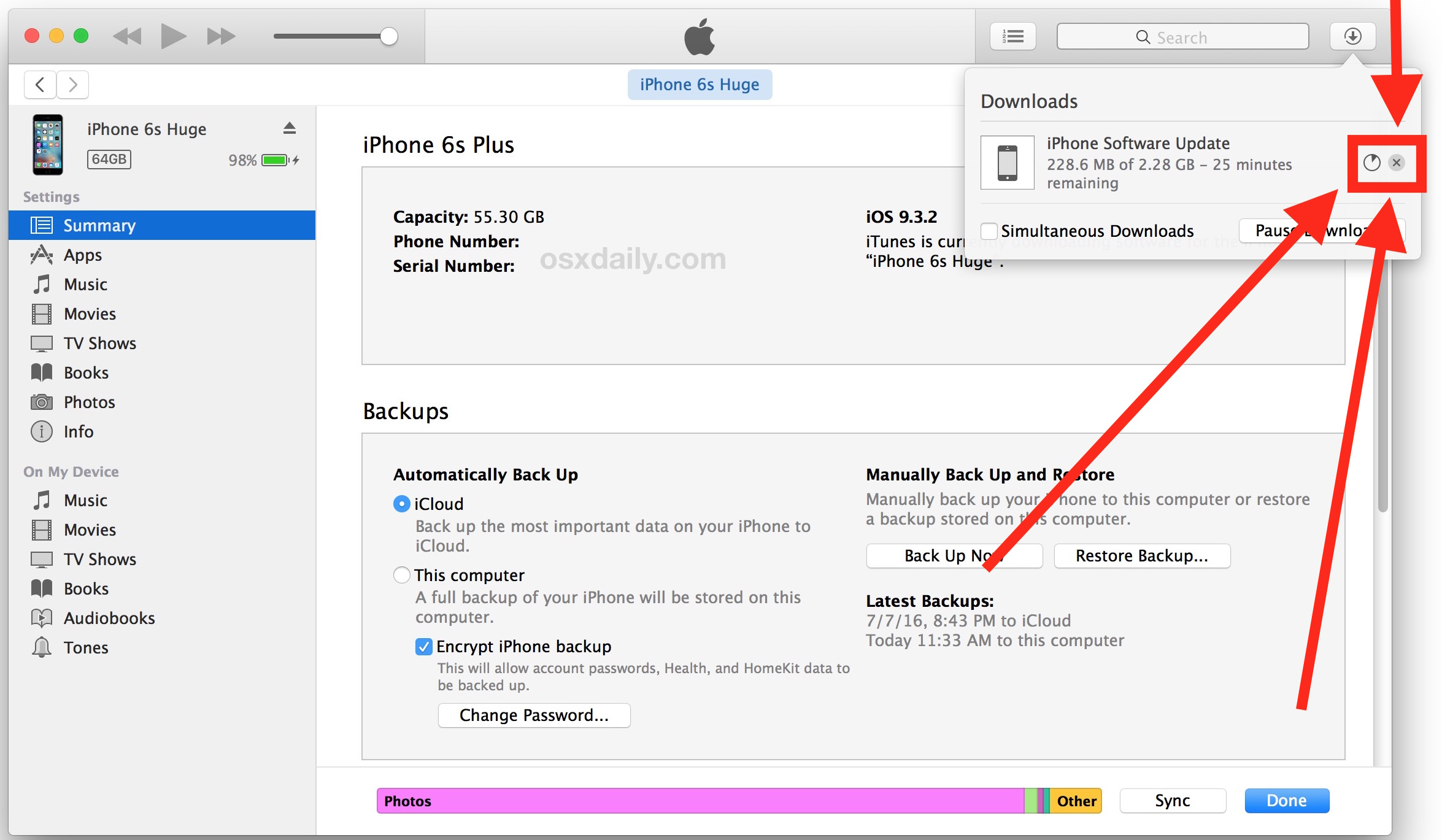 itunes iphone update how to stop itunes from updating ios software 12533