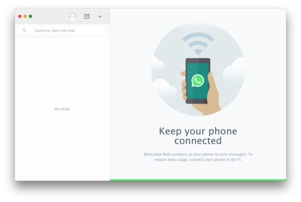 WhatsApp for Mac desktop