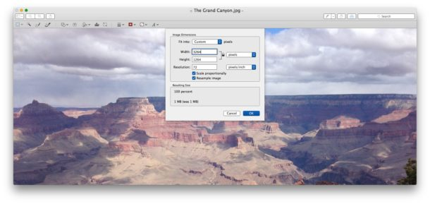 How to Resize a Photo on Mac