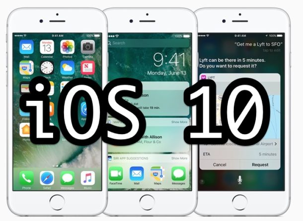 iOS 10 Update Download