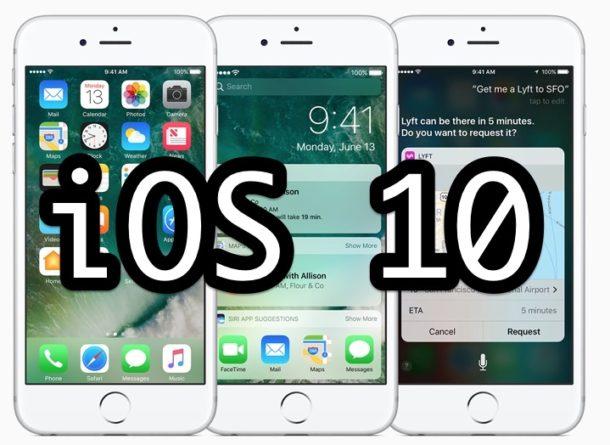 iOS 10 Update Download