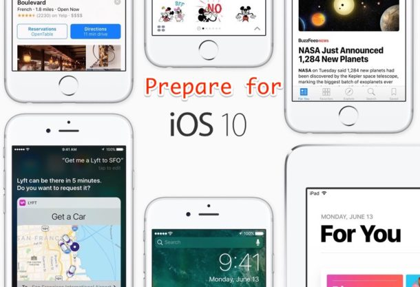 Prepare for iOS 10 update