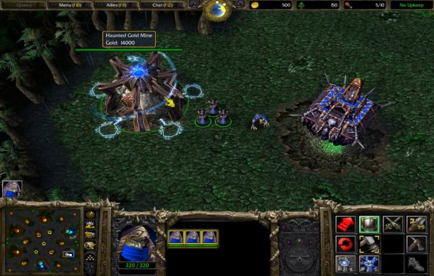 Warcraft 3 on Mac