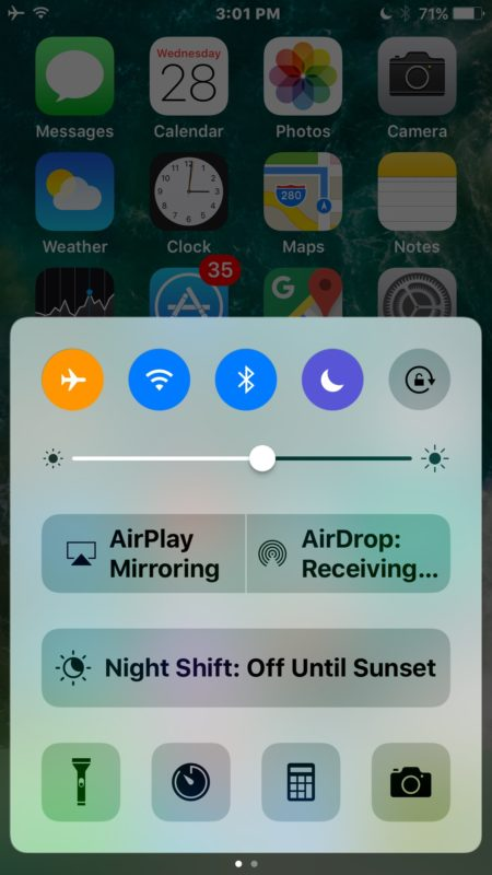 First open control center in iOS to find Music controls