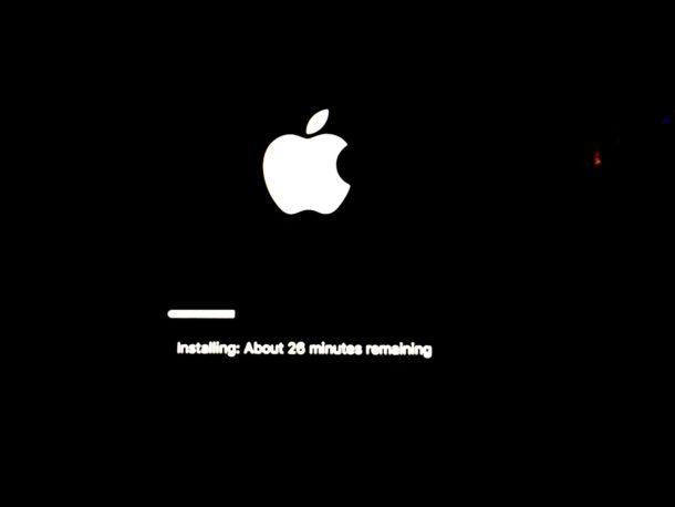 Reinstalling macOS Sierra
