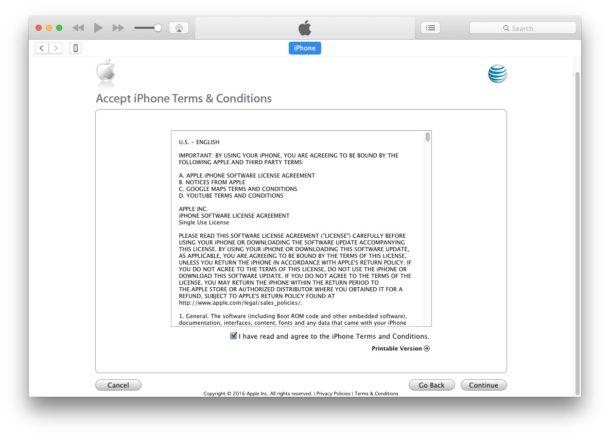 Unlock iPhone 7 terms