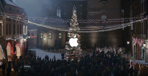 Apple Holiday 2016 ad with FRANKENSTEIN MONSTER