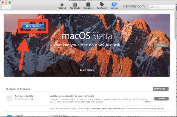 hide-macos-sierra-update-app-store