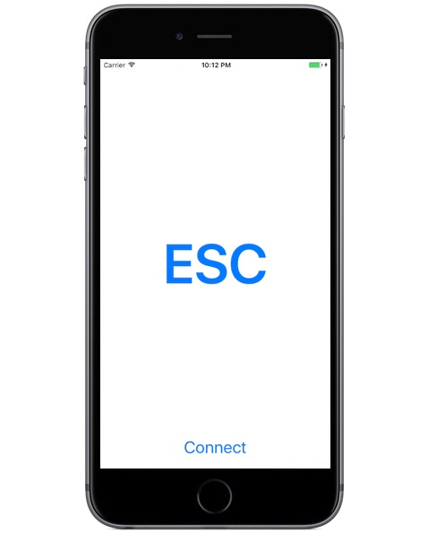 ESCAPE key for Mac running on iPhone