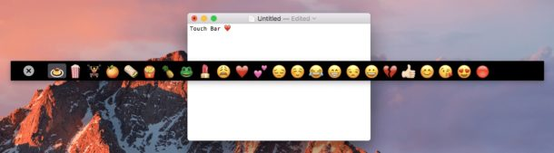 TouchBar test app for any Mac or with iPad