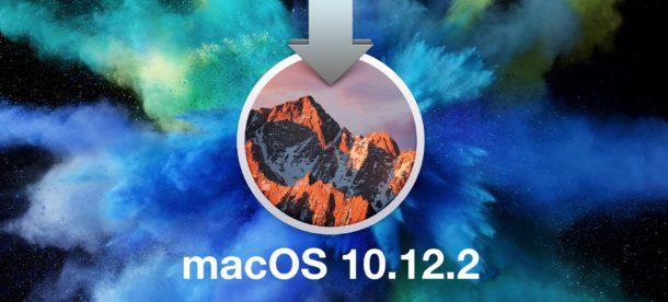 MacOS 10.12.2 Update