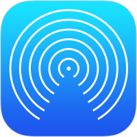 AirDrop icon in iOS
