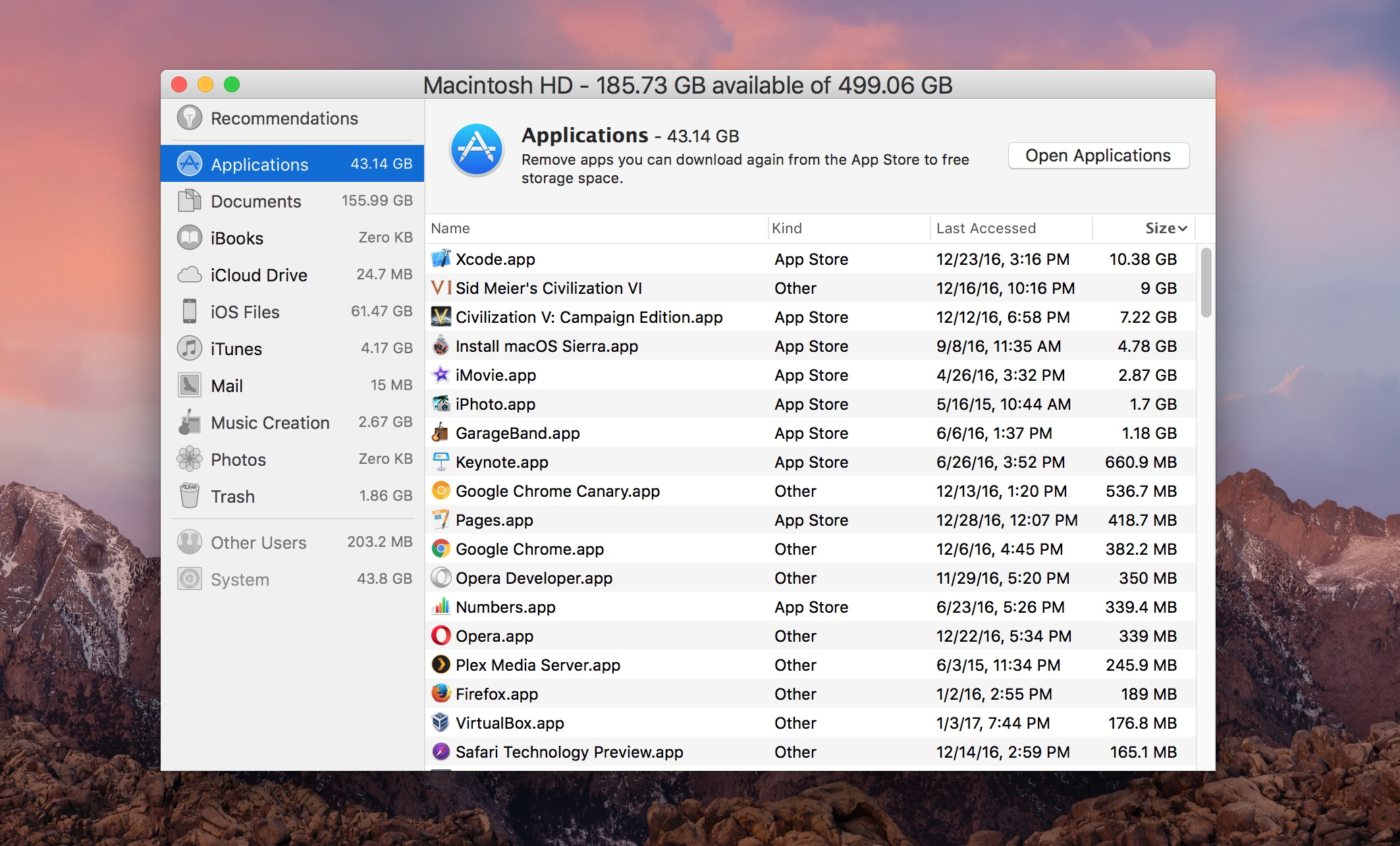 How To Delete Large Apps From Mac To Free Up Storage Osxdaily
