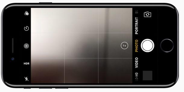 Lock screen camera on iPhone accessed