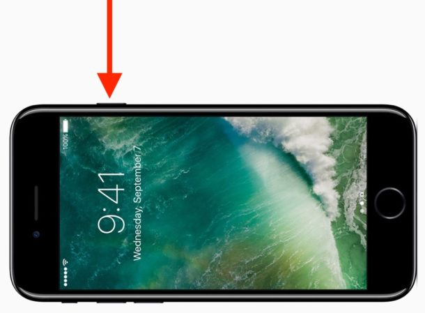 Press Home button to show lock screen