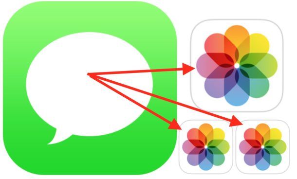 Save Photos from Messages to iOS
