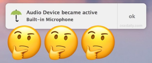 Detect camera and microphone access on Mac