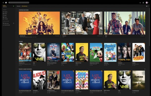 Plex is a great video player for mac and maybe the best video media center app too