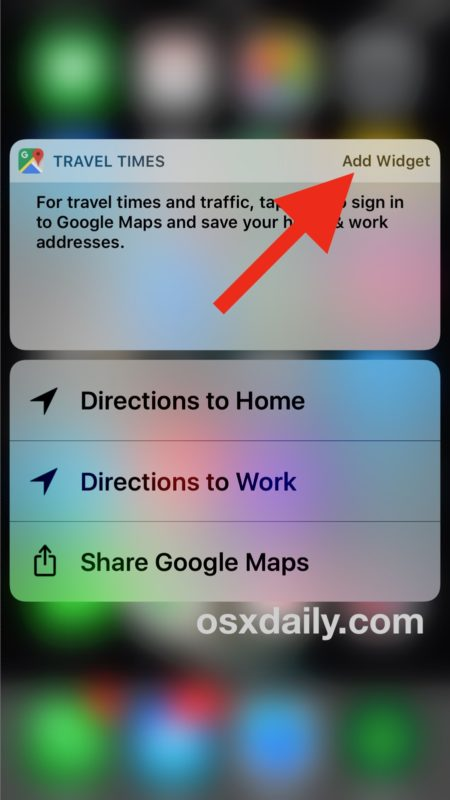 Quickly add widgets to the iOS Lock Screen