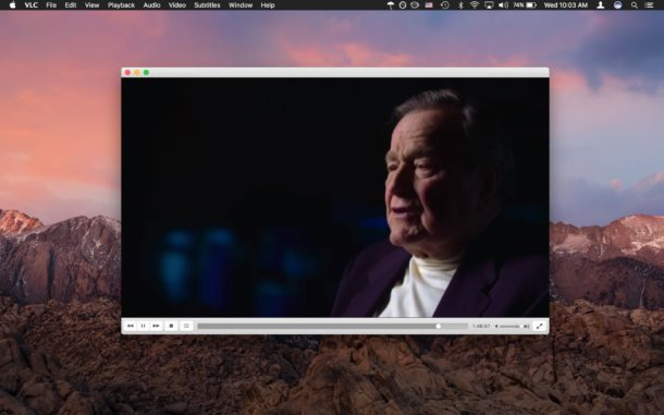 VLC is the best video player for Mac or all purpose use