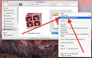 Where Photos are stored on Mac