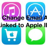 Change email used with Apple ID