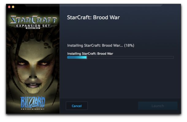 Installing Starcraft on a Mac