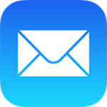Mail icon in iOS