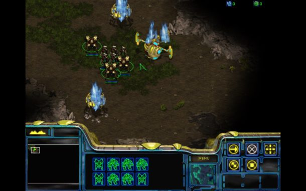 Starcraft screen shots