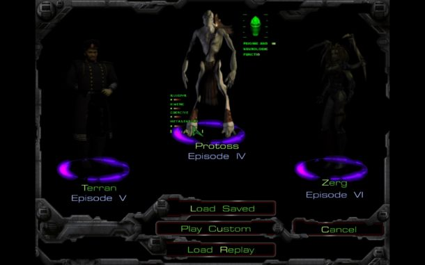 Starcraft 1 screen shots