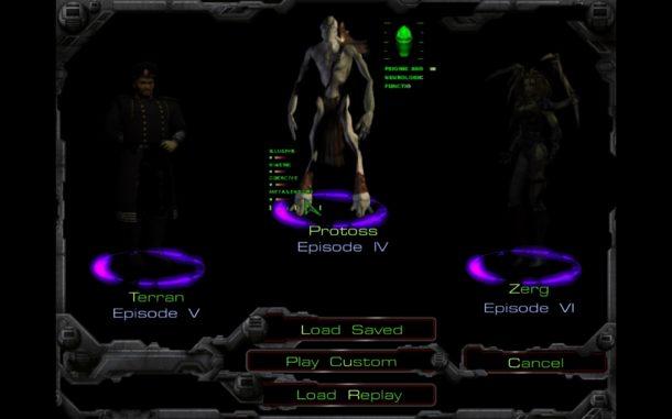Starcraft 1 screen shots