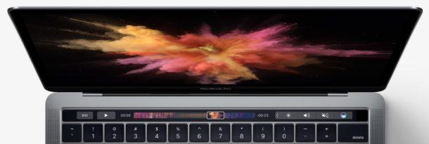 Touch Bar Pro MacBook