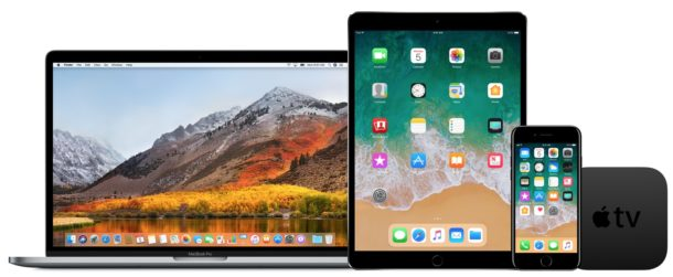 iOS 11 beta and macOS High Sierra beta